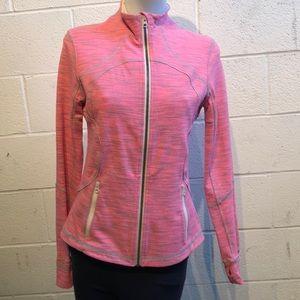 Lululemon pink and green jacket, sz 10, 58318